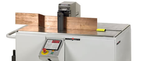 more products from itl, novopress busbar bending equipment